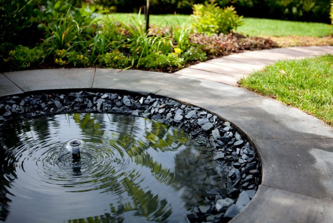 Water detail Kekkilä Standard Gardens