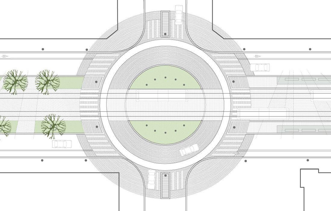 Roundabout Pasilankatu