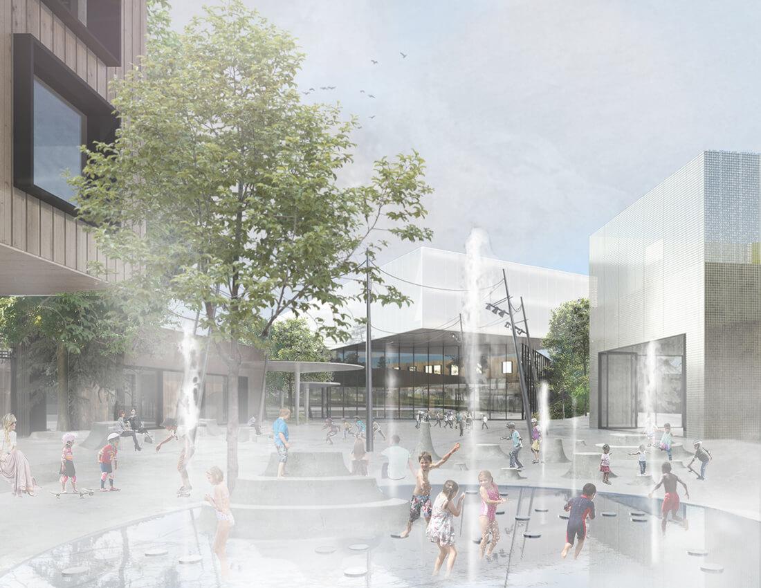 Masu Planning Designing Sports And Culture Campus In Gellerup Aarhus