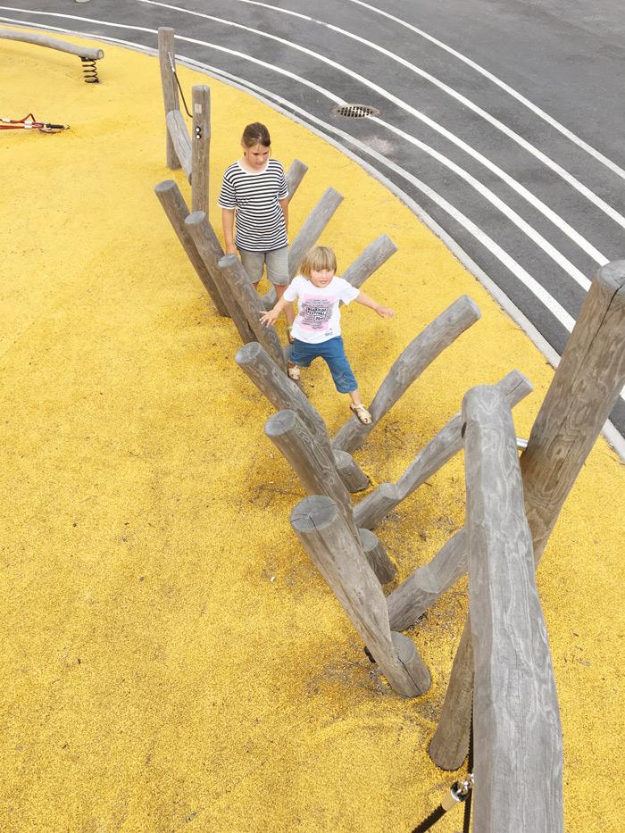Opinmäki campus playground kids