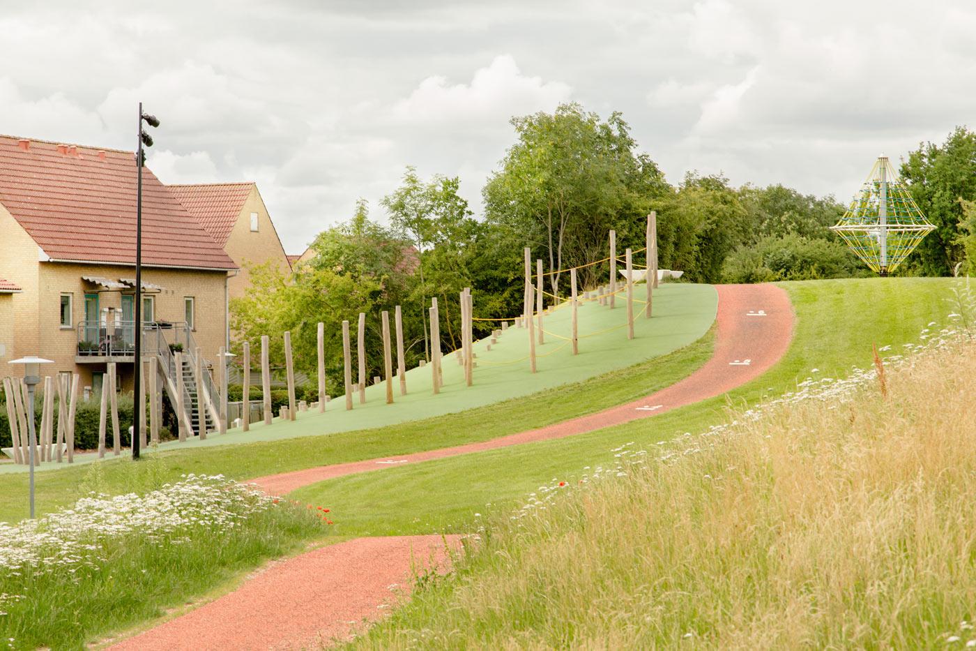 Using the landscape at Kastrup Activity Landscape