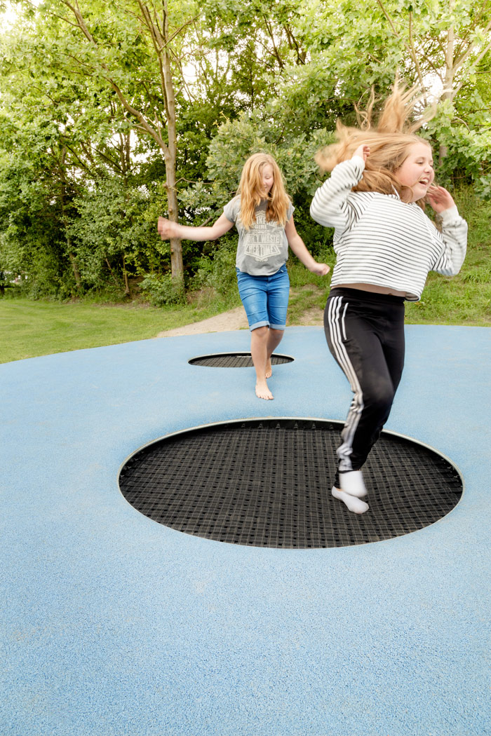 Jumping at Kastrup Activity Landscape