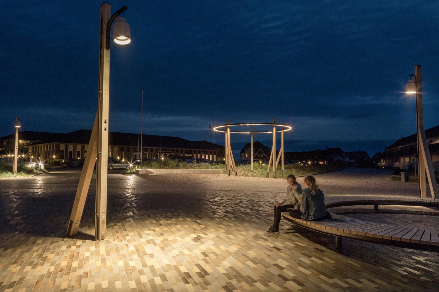 Fanø Bad fanølampen aften lys