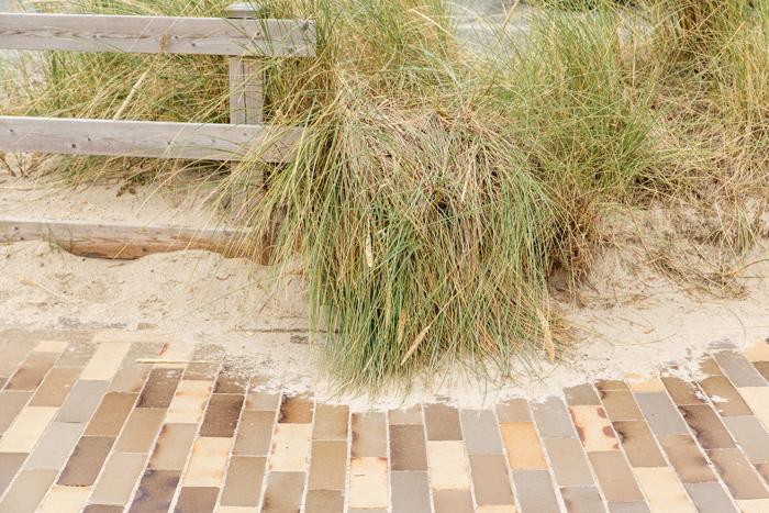 Fanø Bad teglbelægning natur strand overgang