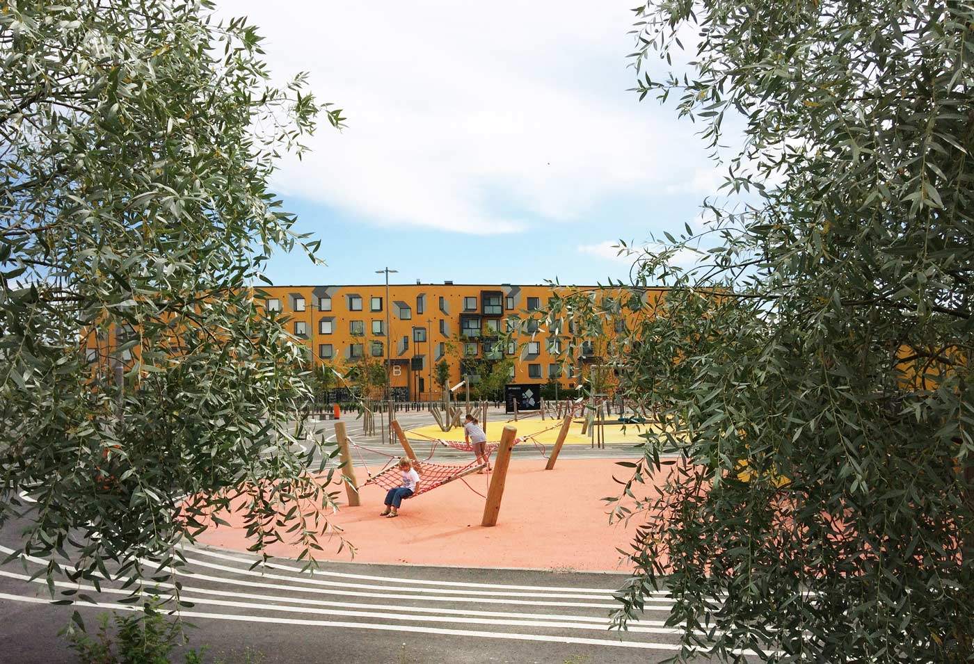 Opinmäki Campus playground
